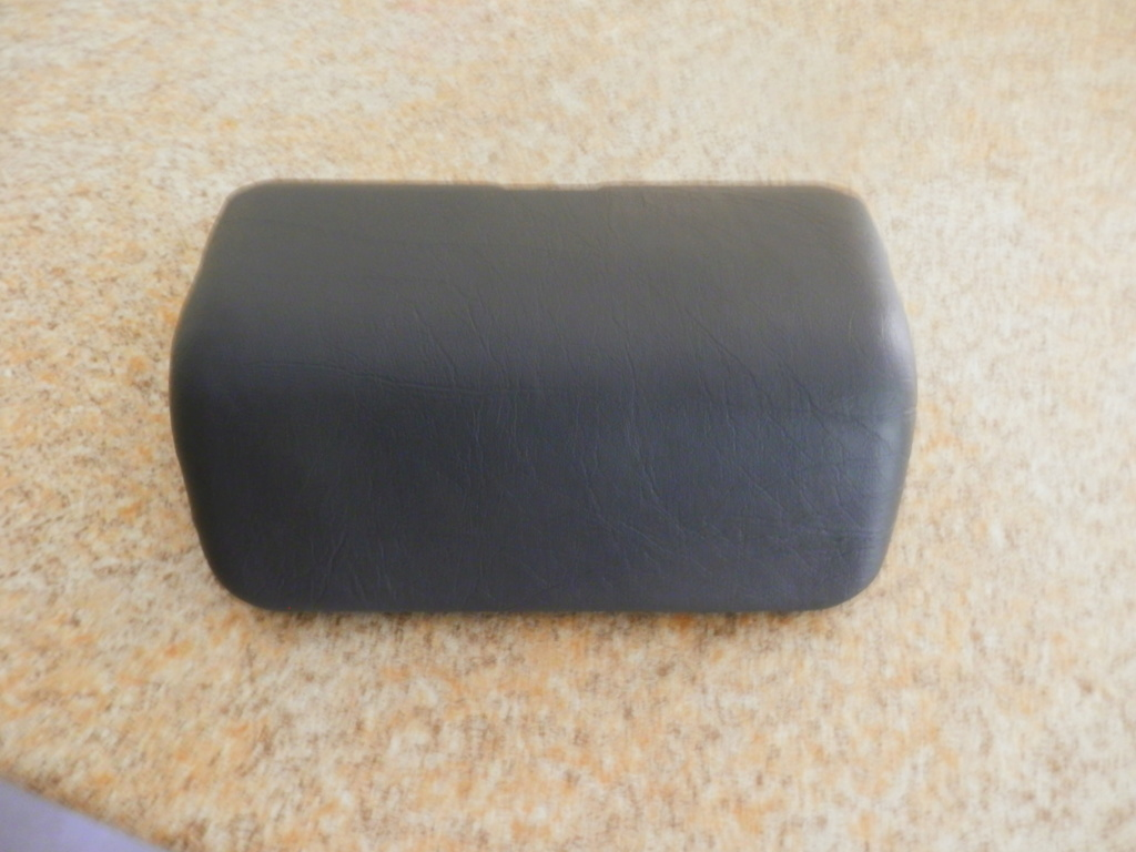22 Lt OEM top box back rest recover. P3120013
