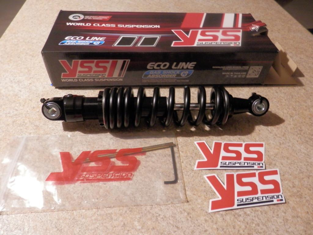 YSS shock through JAX Melbourne & shorten centre stand. P9080210