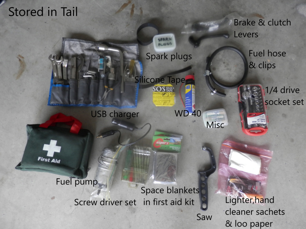 Basic tools/spare parts to travel with Tools_16