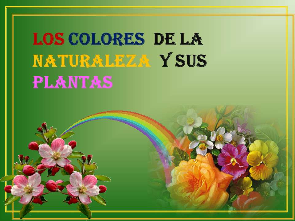 Los colores de la naturaleza. Diapos18