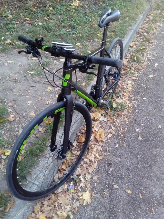 Changement de vélo  Cube_210