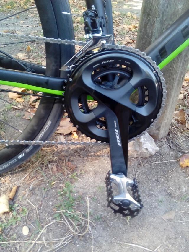 Changement de vélo  Cube_410