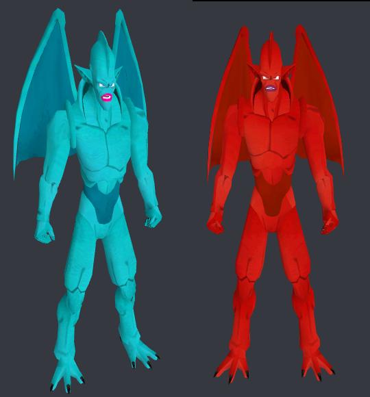[Models] Dragones 3 y 4 estrelllas DB GT- by Franklin Sin_tz10