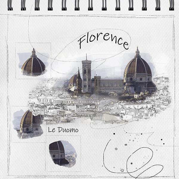 2018-41 / challenge invités : Une page carnet de voyage - Page 3 Floren11