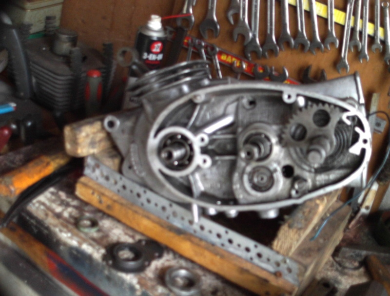 Remise en état moteur 125 TS Sunp0132