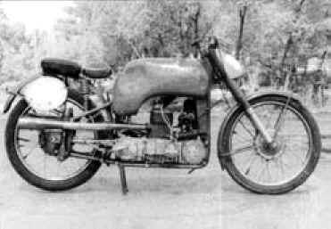 Plus à l'est : les motos Voskod Vostok11