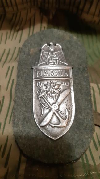 Plaque NARVIK  15871010