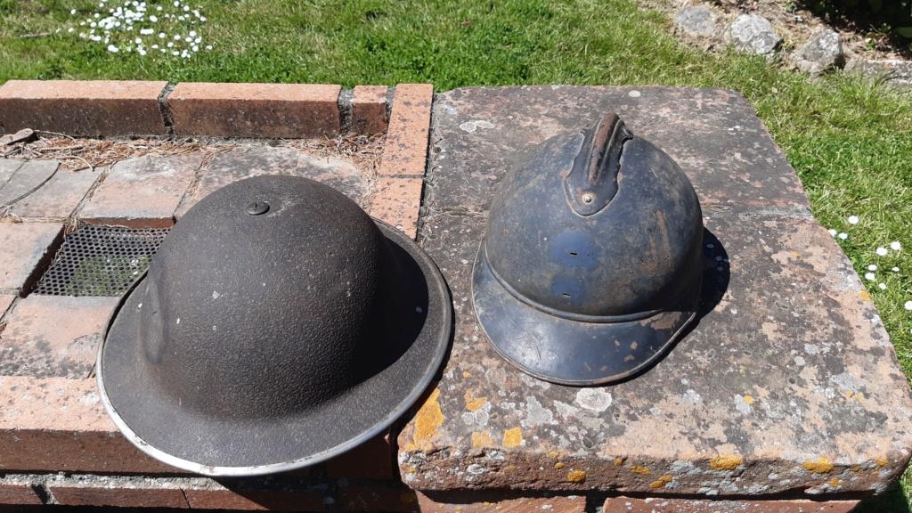 Coques de casque WW1 WW2 20210412