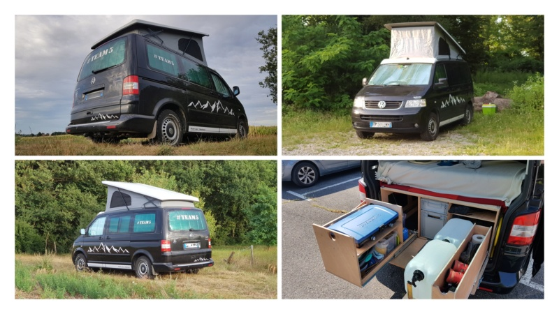 MULTIVAN T5 | 7 PLACES | 2.5 TDI | 174CV | 4MOTION | FAP | CONFORT | TOIT RELEVABLE | BFGOODRICH ALL TERRAIN | #TEAM5 Van0710
