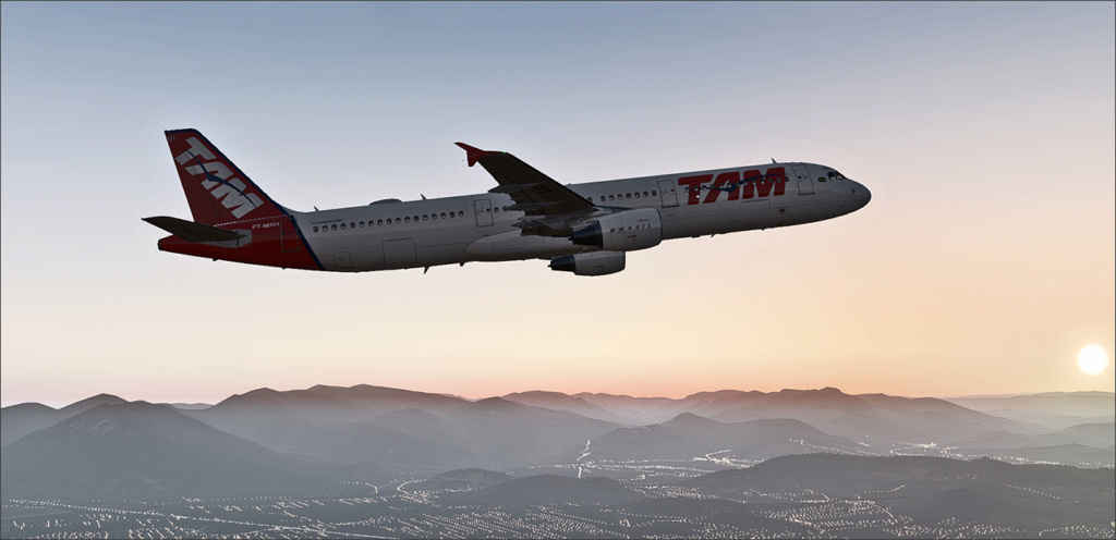 Vôo de Florianópolis(SBFL) à Londrina(SBLO), Airbus A-321 /Tam Snap_273