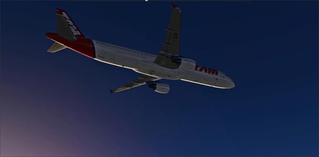 Vôo de Florianópolis(SBFL) à Londrina(SBLO), Airbus A-321 /Tam Snap_274
