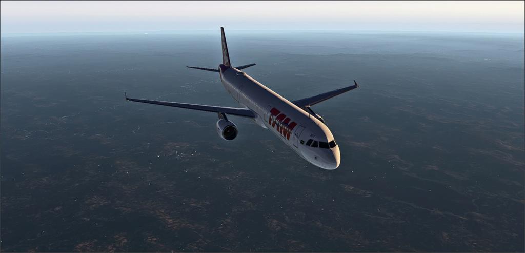 Vôo de Florianópolis(SBFL) à Londrina(SBLO), Airbus A-321 /Tam Snap_275