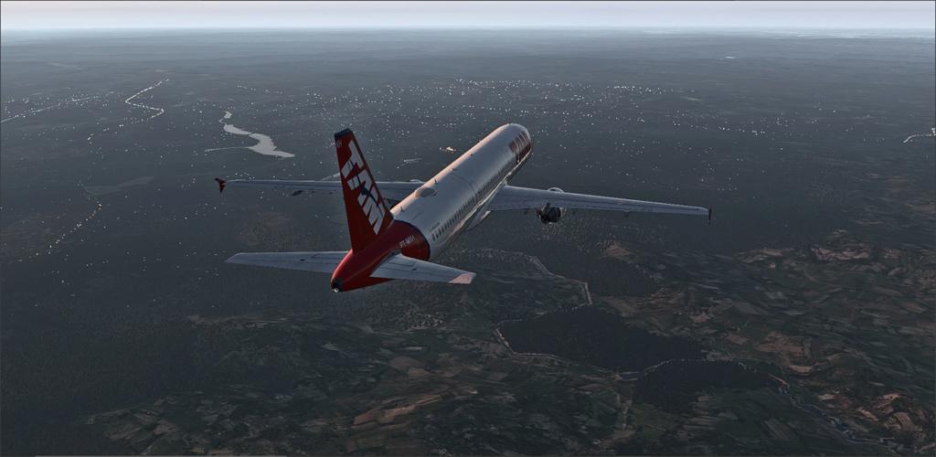 Vôo de Florianópolis(SBFL) à Londrina(SBLO), Airbus A-321 /Tam Snap_276