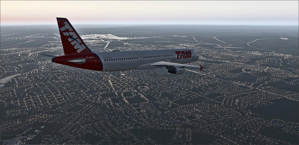 Vôo de Florianópolis(SBFL) à Londrina(SBLO), Airbus A-321 /Tam Snap_277