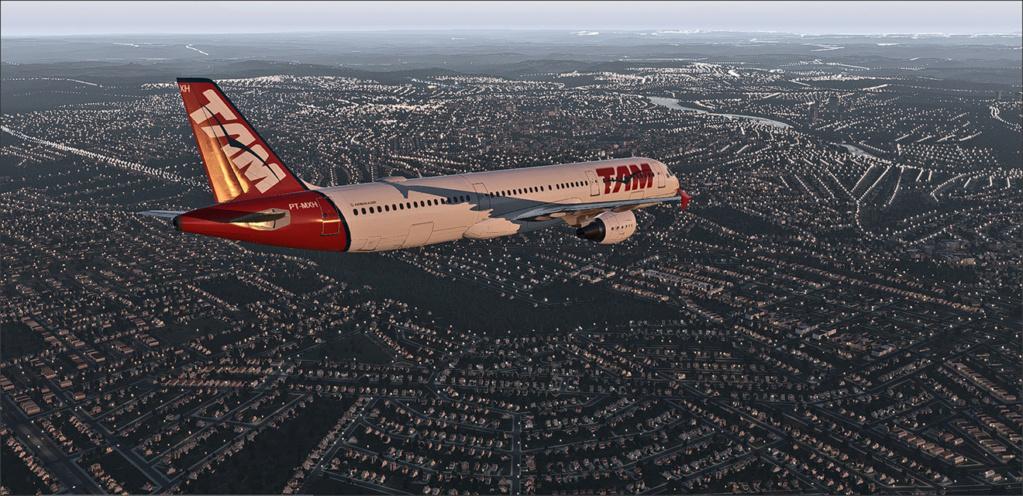 Vôo de Florianópolis(SBFL) à Londrina(SBLO), Airbus A-321 /Tam Snap_279