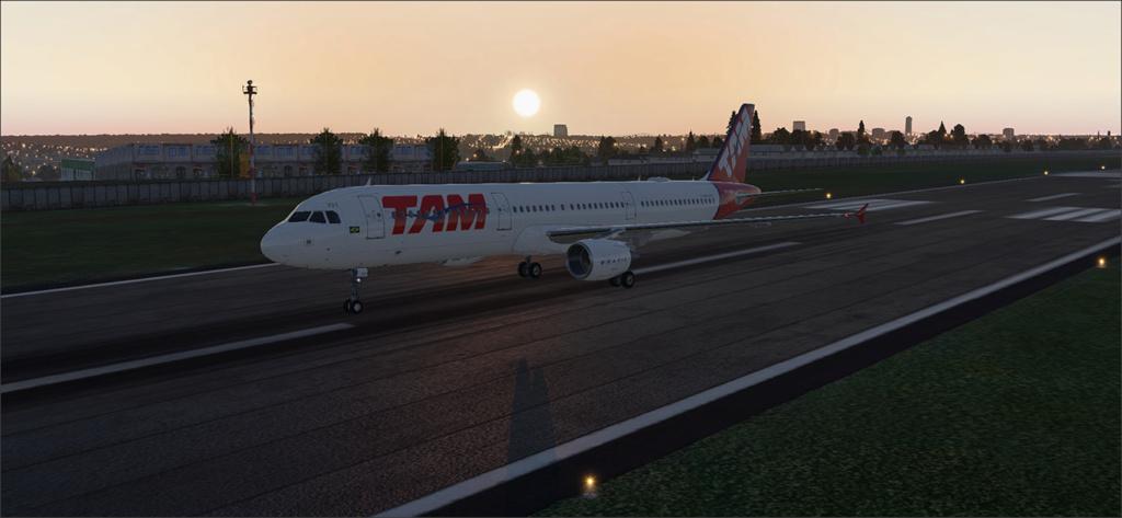 Vôo de Florianópolis(SBFL) à Londrina(SBLO), Airbus A-321 /Tam Snap_282