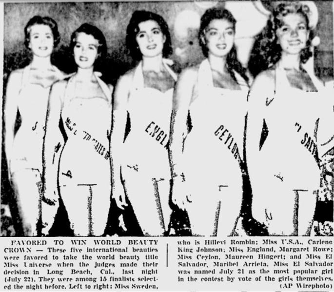 Miss Universo 1955. Photo 50. 50_22-10