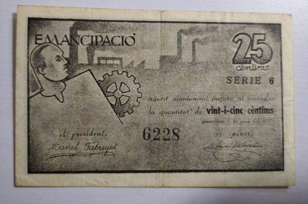 25 Ctms de Granollers, 1937  Revers13