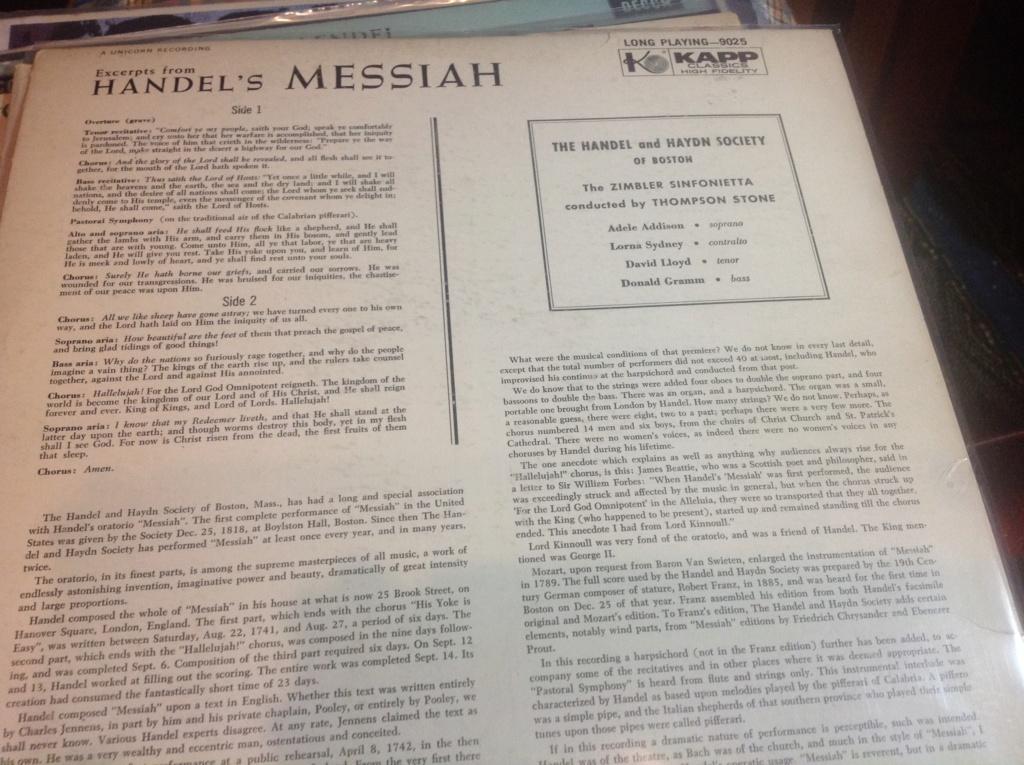 El Mesías, de George Frideric Haendel. HWV 56 Image608