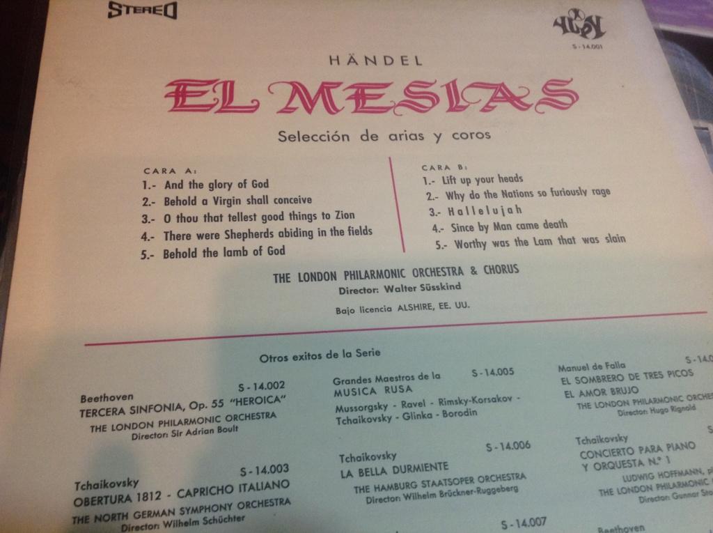 El Mesías, de George Frideric Haendel. HWV 56 Image613