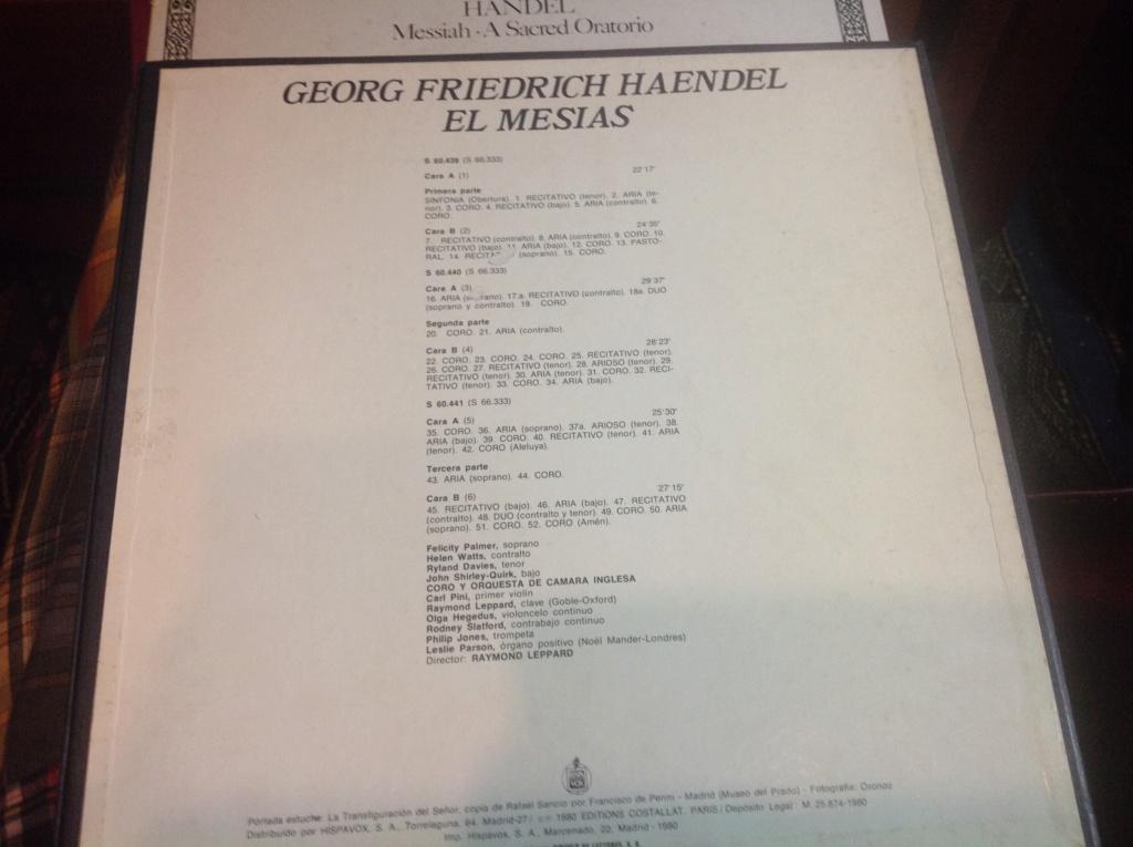 El Mesías, de George Frideric Haendel. HWV 56 Image622