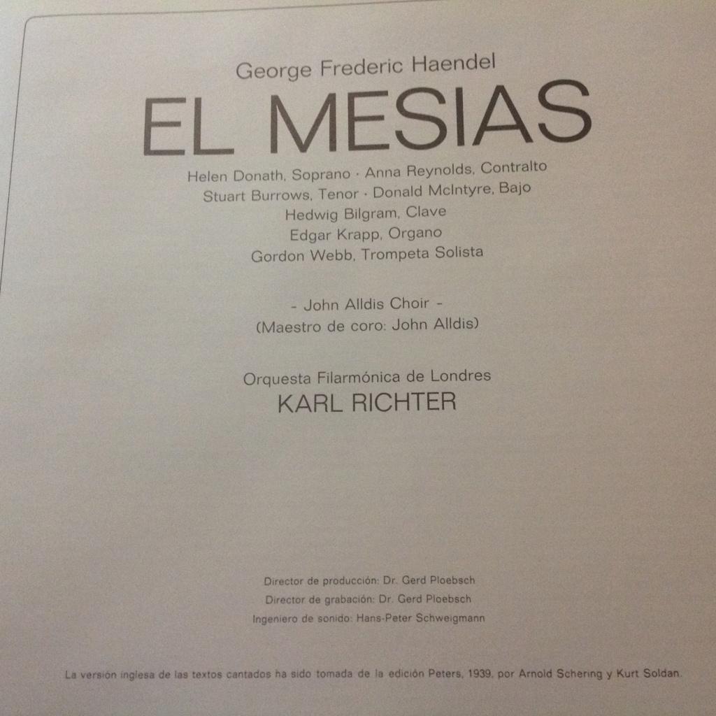 El Mesías, de George Frideric Haendel. HWV 56 Image648
