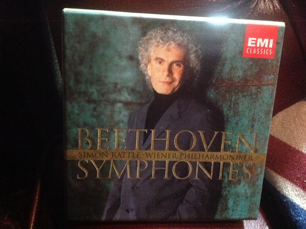 Decepción grabaciones sinfonias beethoven por Rattle Image740