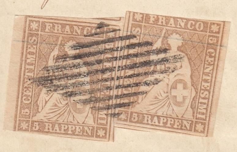 Zwei Einzelmarken 22, welche Ausgabe? Zzz10