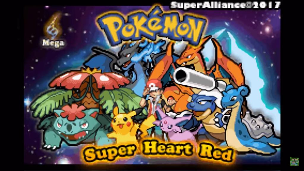 Pokemon Super Heart Red (GBA) Descar10