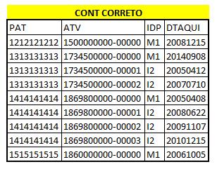 Numeração com final sequencial usando informações de duas tabelas 110