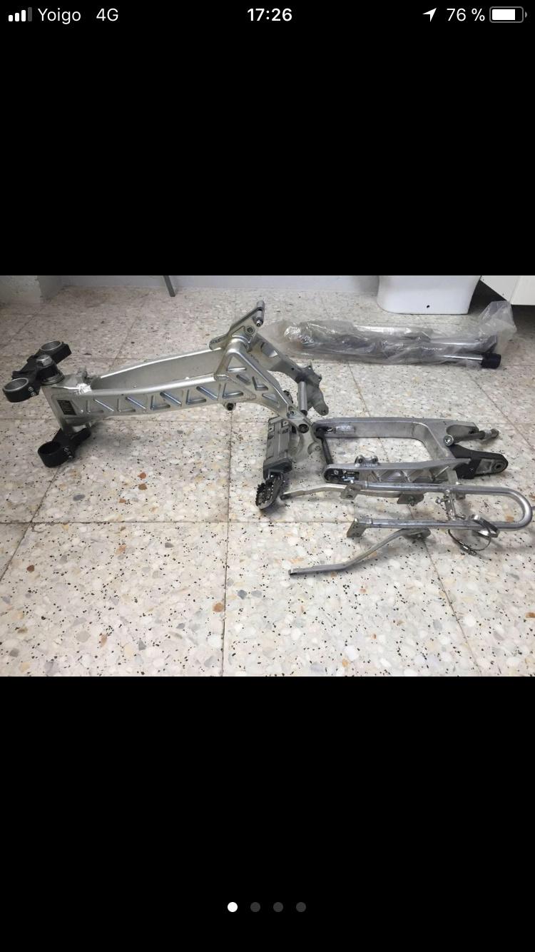 Chasis aluminio rav perimetral y barras marzochi 06021310