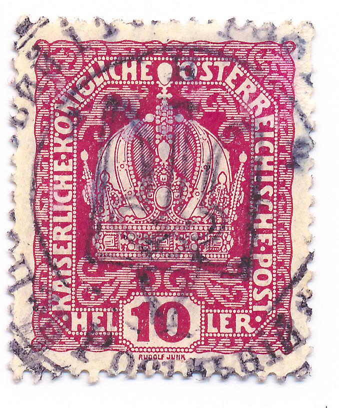 Die Freimarkenausgabe 1916 Ukrain10