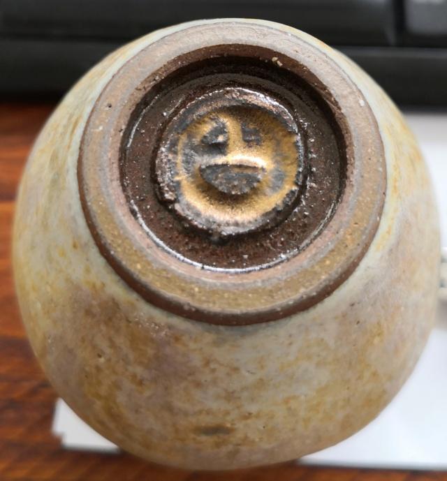 Studio pottery vase with DB mark - Chris Carter  Img_2011