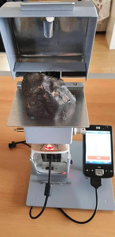 Намерен железен метеорит в България от член на БАТСЗМ 29425310