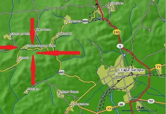 Есенен събор на БАТСЗМ на 07.09.2019- Старозагорски бани. Map-210