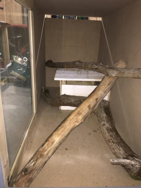 Construction nouveau terrarium varan des savanes  53a54510