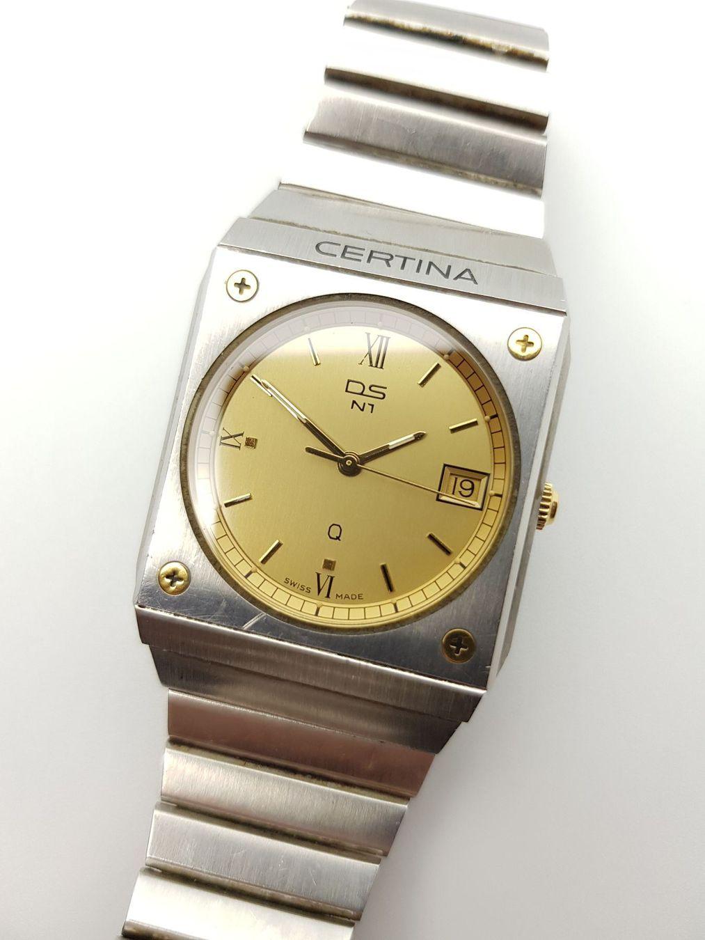 Certina - Anos 80 Certin13