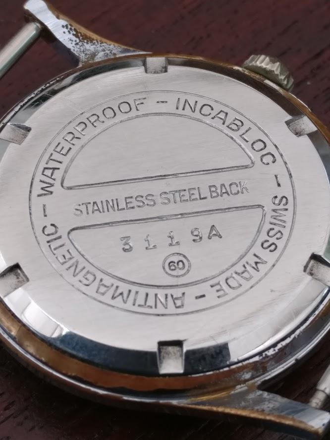 Relógio vintage Helvetia (anos 50), mecânico, a corda manual Img_2131