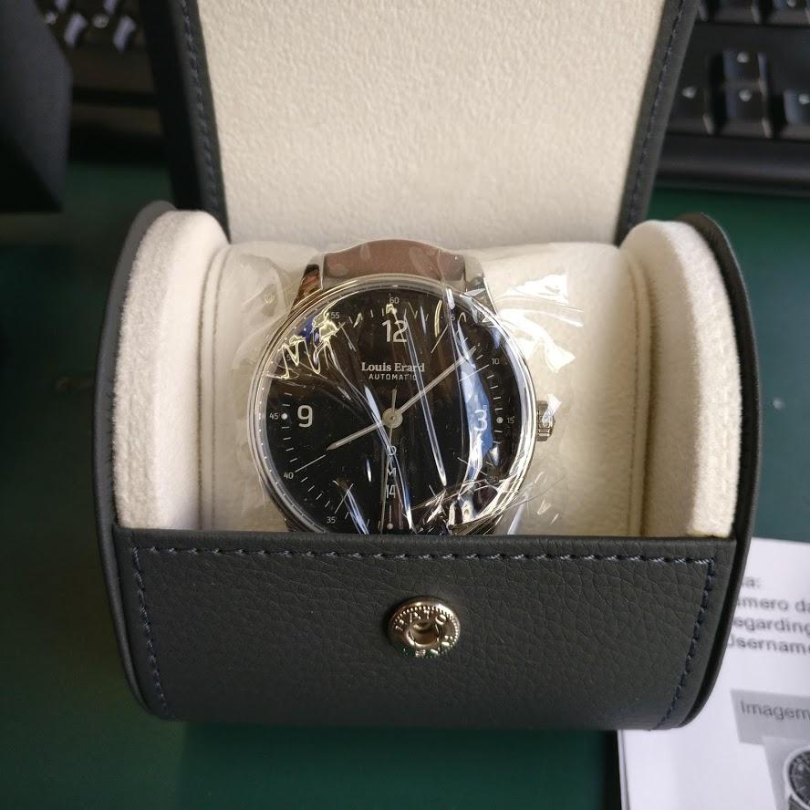 [Vendo] Relógio Louis Erard, automatico, modelo Heritage Collection Img_2211