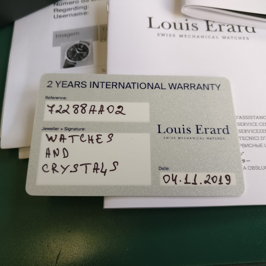 [Vendo] Relógio Louis Erard, automatico, modelo Heritage Collection Img_2212