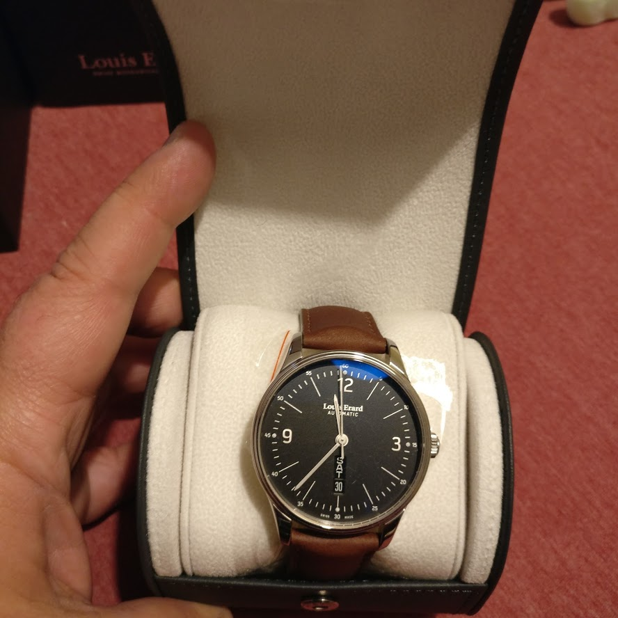 [Vendo] Relógio Louis Erard, automatico, modelo Heritage Collection Img_2216