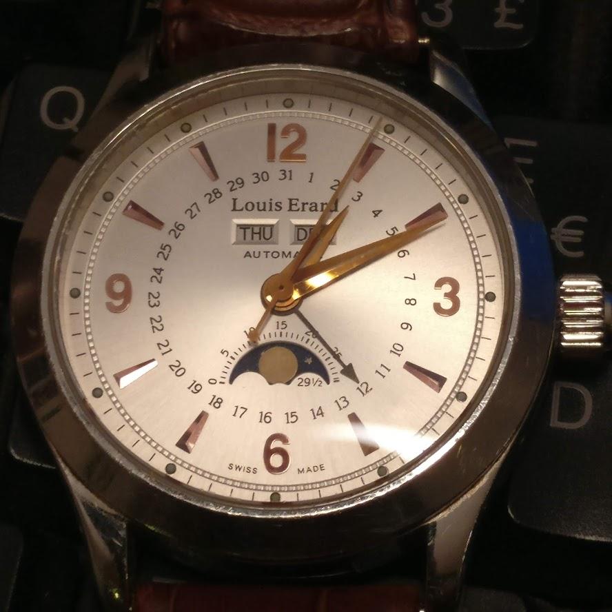 [Vendido] Relógio Louis Erard 1931 Moonphase ref. 43203 automático Img_2224