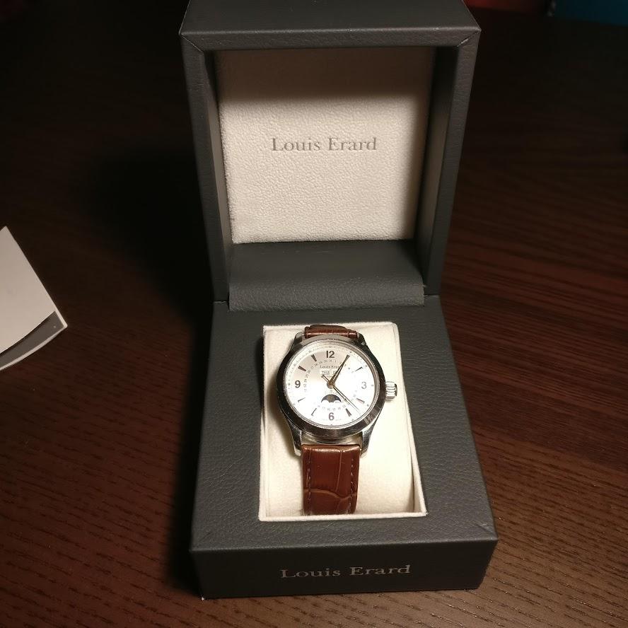 [Vendido] Relógio Louis Erard 1931 Moonphase ref. 43203 automático Img_2231