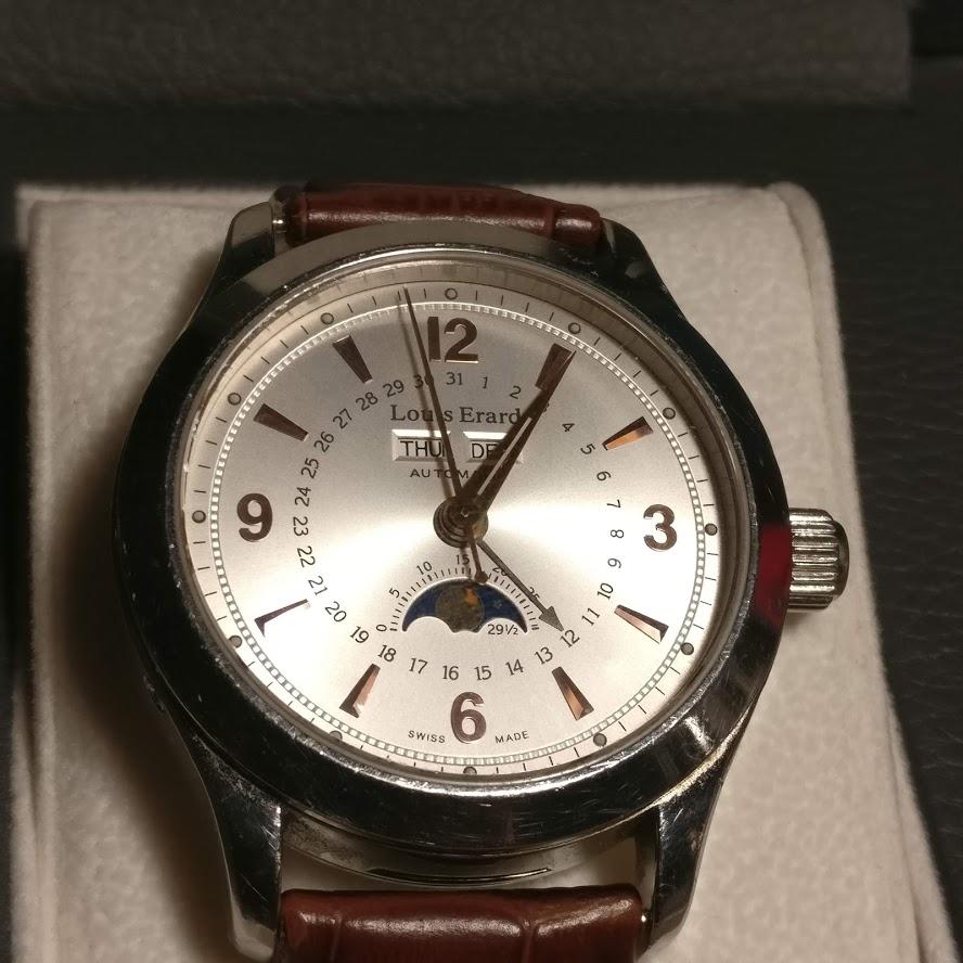 [Vendido] Relógio Louis Erard 1931 Moonphase ref. 43203 automático Img_2232