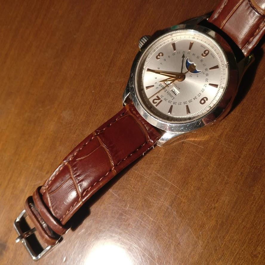 [Vendido] Relógio Louis Erard 1931 Moonphase ref. 43203 automático Img_2233