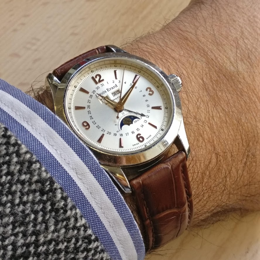 [Vendido] Relógio Louis Erard 1931 Moonphase ref. 43203 automático Img_2235
