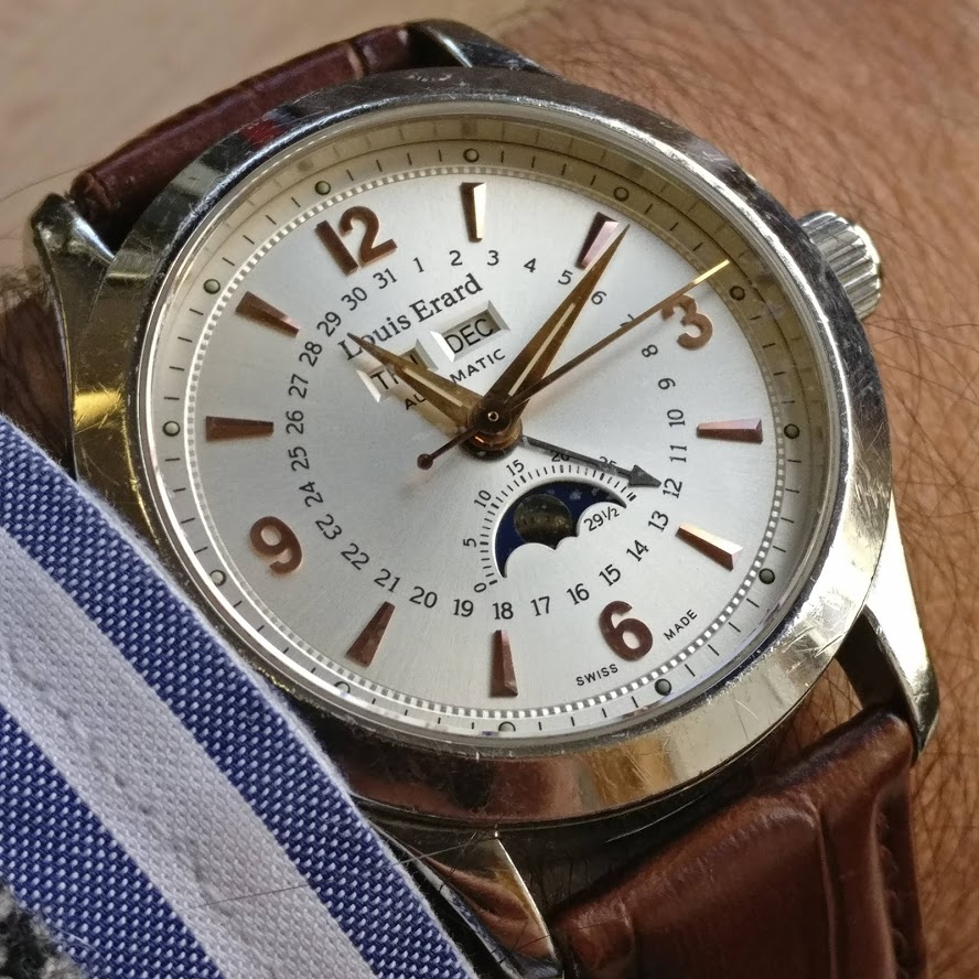 [Vendido] Relógio Louis Erard 1931 Moonphase ref. 43203 automático Img_2236