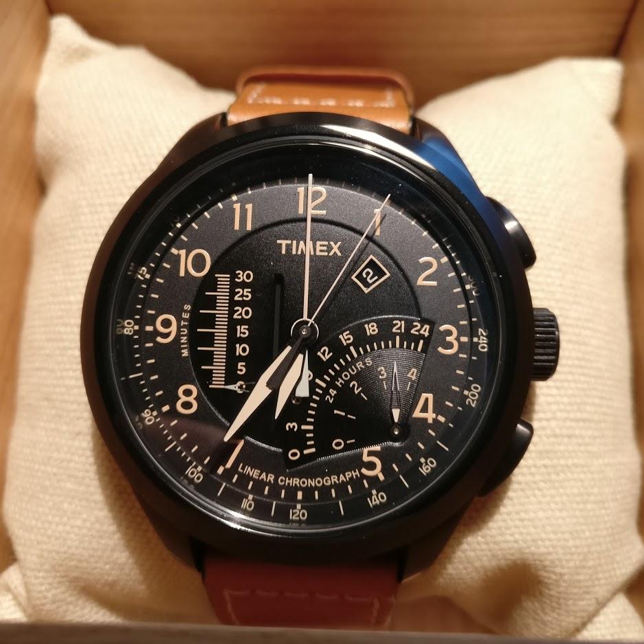 [Vendido] Timex Cronógrafo Intelligent Quartz T2P277 Img_2290