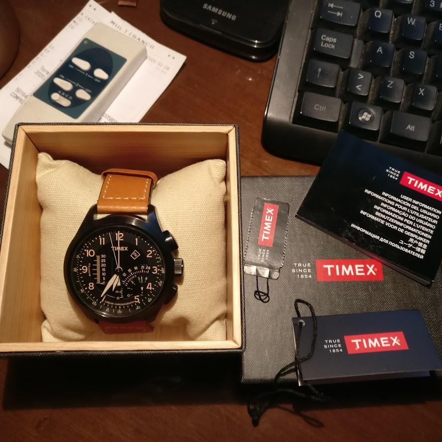 [Vendido] Timex Cronógrafo Intelligent Quartz T2P277 Img_2291