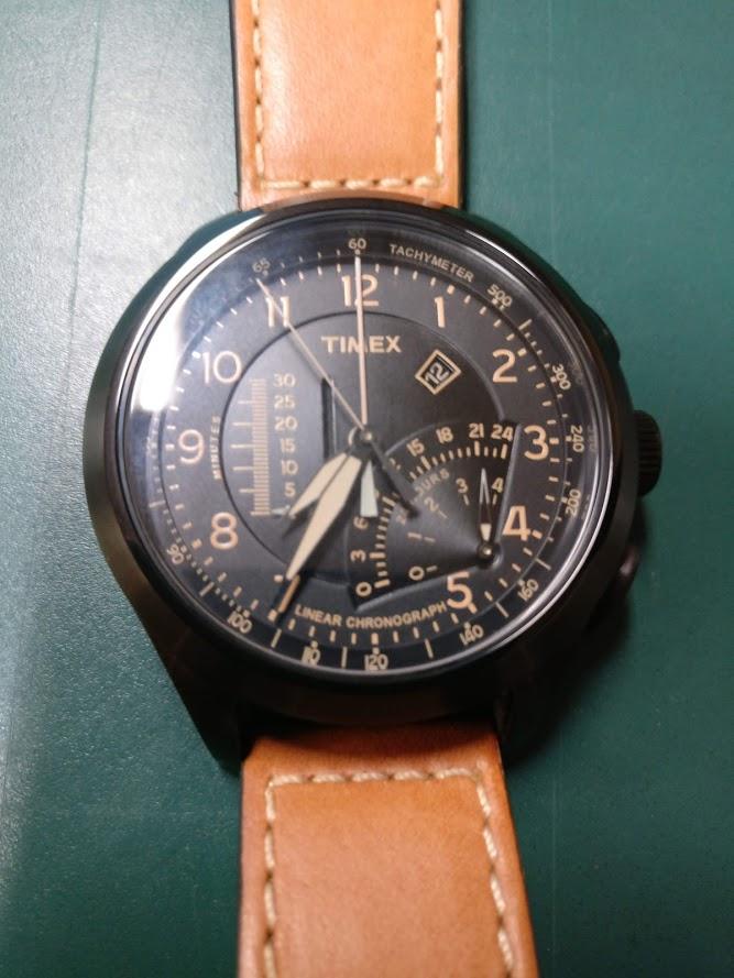 [Vendido] Timex Cronógrafo Intelligent Quartz T2P277 Img_2292